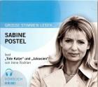 Sabine Postel liest ``Tote Katze``und ``Jalousien`` CD