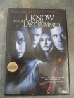 DVD RC-1 I KNOW WHAT YOU DID LAST SUMMER uncut