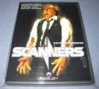 Scanners 1 - Ihre Gedanken können töten Erstauf. DVD Uncut