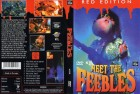 Meet The Feebles - Red Edition / DVD / Uncut / Peter Jackson