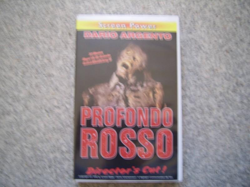 Profondo Rosso  VHS