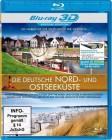 Die deutsche Nord- und Ostseeküste [3D+2D Blu-ray] Neuwertig