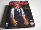 SCANNERS 1-3 - 3 RC2 DVD BOX ANCHOR BAY - KULT ACTION HORROR