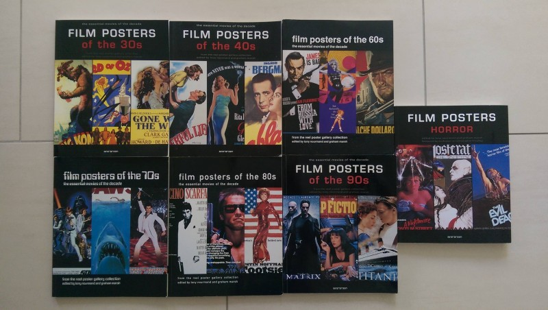 Film Posters Of The 30s 40s 60s 70s 80s 90s und Horror, buch