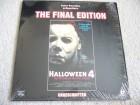 Halloween 4: - deutsche LD Laserdisc