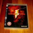 PS3 RESIDENT EVIL 5 - UK - DEUTSCH