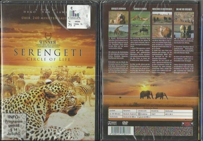Serengeti - Circle of Life (380252, NEU, Konvo)