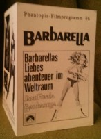 Barbarella Phantopia-Filmprogramm 86