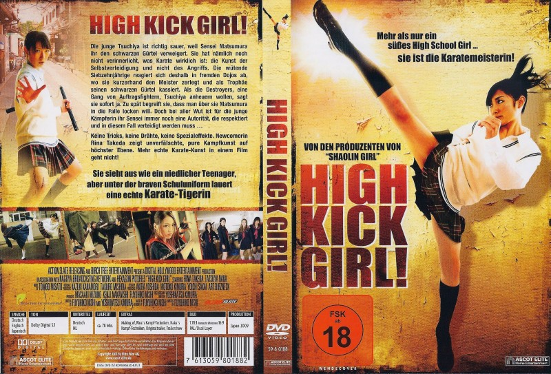 High Kick Girl ! - DVD