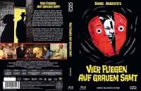 Vier Fliegen auf grauem Samt  - Mediabook A (Blu Ray+DVD)NEU