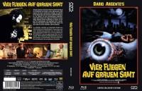 Vier Fliegen auf grauem Samt  - Mediabook C (Blu Ray+DVD)NEU