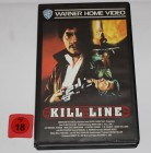 VHS - KILL LINE (Warner Video) Bobby Kim