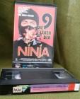 Die 9 Leben der Ninja VPS VHS Rarität Sho Kosugi
