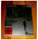 PS3 RAGE - LIMITED ANARCHY EDITION im STEELBOOK im SCHUBER