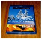 BLU-RAY SPARKLING SNOW - COSY FLAMES - NEU