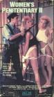 Women's Penitentiary II (VHS NTSC) mit Pam Grier! RAR!