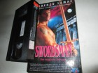 VHS - The Swordsman - Lorenzo Lamas - NewVision Hardcover