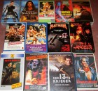 13 x ACTION VIDEO SAMMLUNG - VHS