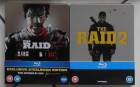 THE RAID 1 + 2 - Limited STEELBOOK Editions - UNRATED!!