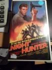 """Night Hunter"",  spannender Action-Thriller, VHS."