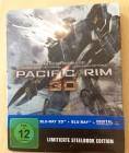 Pacific Rim - 3D - Blu-Ray STEELBOOK wie Neu OOP