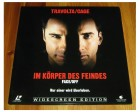 LD LASERDISC - FACE OFF - IM KÖRPER DES FEINDES - Travolta -