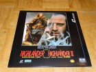 LD Laserdisc /// HIGHLANDER + HIGHLANDER II Double Feature