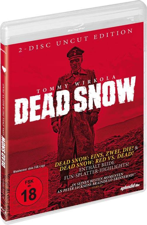 Dead Snow 1+2 Box [Blu-ray] (deutsch/uncut) NEU+OVP