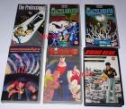 6 Anime Filme auf VHS von Manga Video