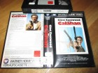 VHS - Calahan - Dirty Harry 2 - Clint Eastwood - Warner