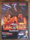 DVD SABOTAGE - DARK ASSASSIN Mark Dacascos -uncut-
