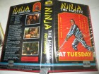 VHS - Ninja the Master - Fat Tuesday - Sho Kosugi