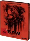 SAW - Directors Cut - 10th An Edition Blu-ray Steelbook OVP