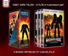 Robot Wars - Robotjox 1-3 -gr. Hartbox 84 Keilschuber OVP