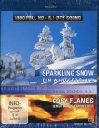 Sparkling Snow & Cosy Flames (Kaminfeuer / Blu-ray)