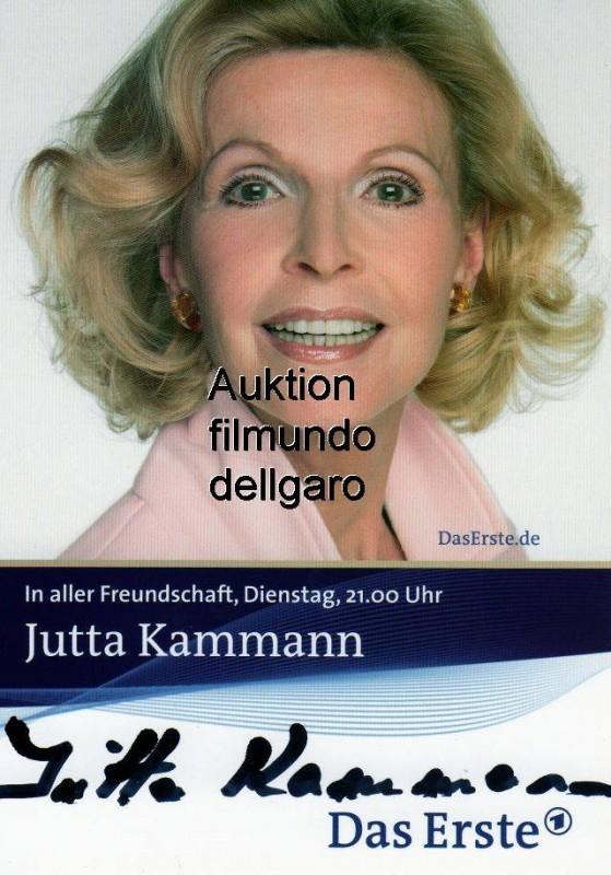 Jutta Kammann ☆ Originalautogramm ☆