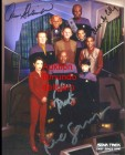 Foto -- star Trek cast - Repro **