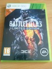 XBOX360 Battlefield 3 Limited edition  UNCUT