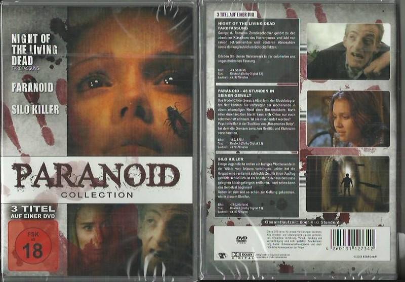 Paranoid Collection (28056252 ,NEU, 3 Filme, Horror)