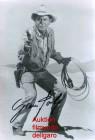 Autogrammfoto -- Glenn Ford - Repro **