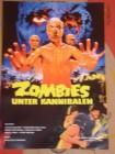 Zombies unter Kannibalen DIN A3 Poster