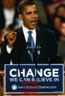 Autogrammfoto -- Barack Obama (2)  - Repro **