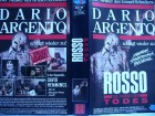 Rosso - Die Farbe des Todes ...  Horror - VHS !!! ... FSK 18