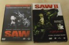 Saw - Directors Cut + Saw II Limited Collectors Edition DVDs