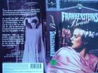 Frankensteins Braut ... Boris Karloff..    Horror - VHS !!!