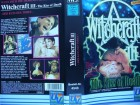 Witchcraft III - The Kiss of Death  ...   Horror - VHS  !!!