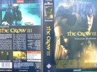The Crow III - T�dliche Erl�sung  ...    Horror - VHS  !!!