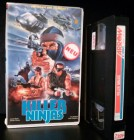 Killer Ninjas Arrow Video VHS