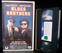 Blues Brothers Kultfilm VHS Original Kinofassung (E43)