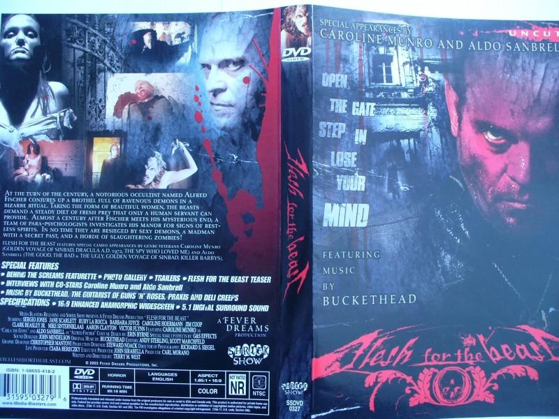 Flesh for the beast ...DVD !!!  Languages English...  FSK 18